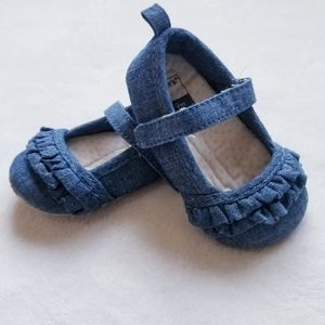 Carter's denim Mary Jane shoes